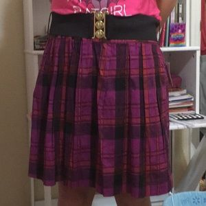 Cute Skirt with belt and pockets. Made in USA
